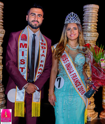 Miss & Mister India France 2018