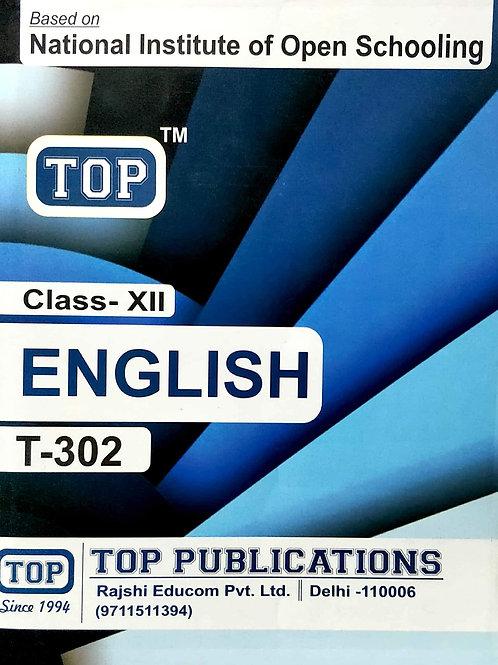 TOP NIOS Class 12 English Guide T-302 Paperback – 1 January 2019