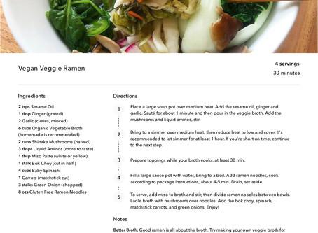 Vegan Veggie Ramen