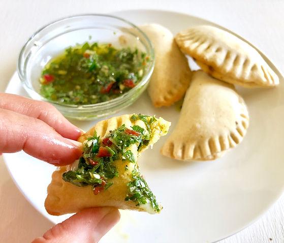 Spinach + Mushroom Empanadas