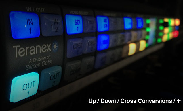 TIMECODE POST - Video Conversions Teranex 4K