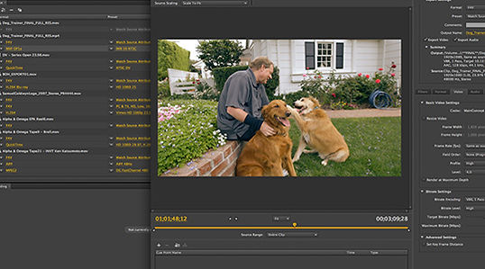 TIMECODE POST - Video Conversions 4K
