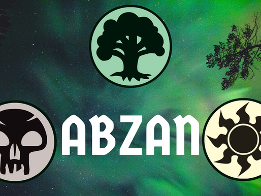 Abzan Color Philosophy [Slicing the Pie]