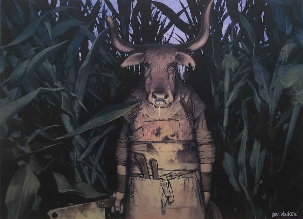 Flesh Taker By Kev Walker