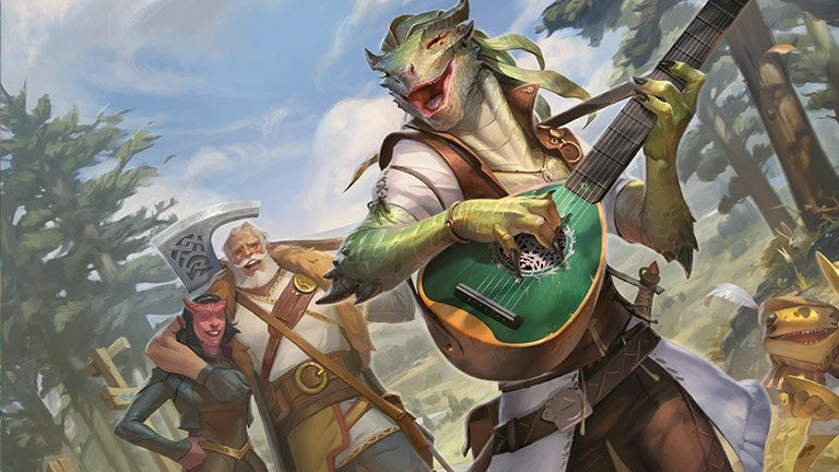 adventures in the forgotten realms art 3 adventurers in a cheerful mood