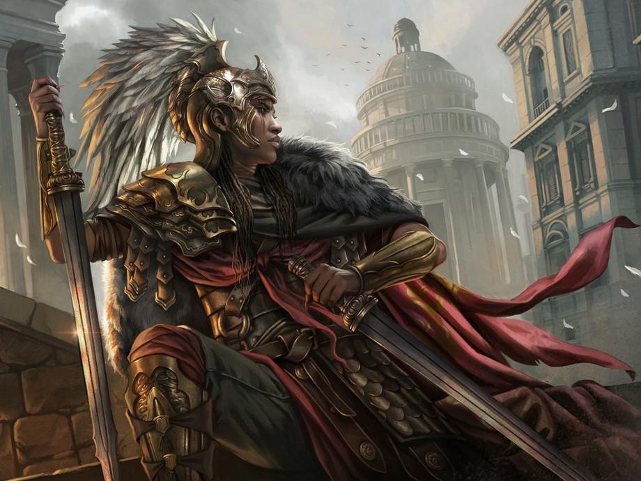 Mardu warrior mtg art