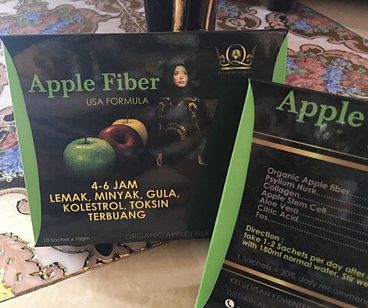 QM APPLE FIBER