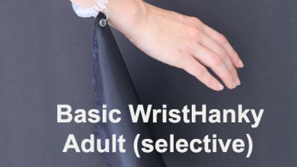 2. Spiral WristHanky Adult (Selective)
