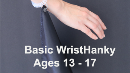 3. Spiral WristHanky    (Age 13 - 17)