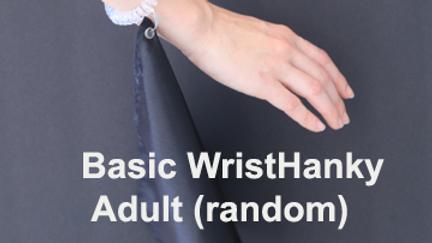 1. Spiral WristHanky Adult (Random)