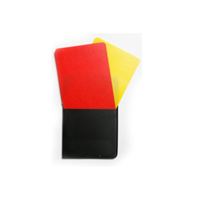 Penalty Cards (With Folder)