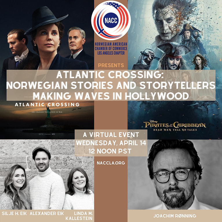 Atlantic Crossing - Norwegian Stories and Storytellers Making Waves in Hollywood
