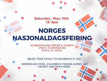 EVENT: CELEBRATE NORWAY'S CONSTITUTION DAY