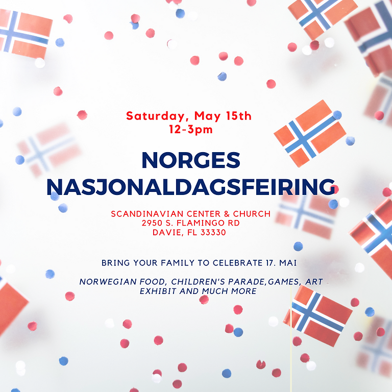 Celebrate Norway's Constitution Day ! Hurrah for 17 Mai!
