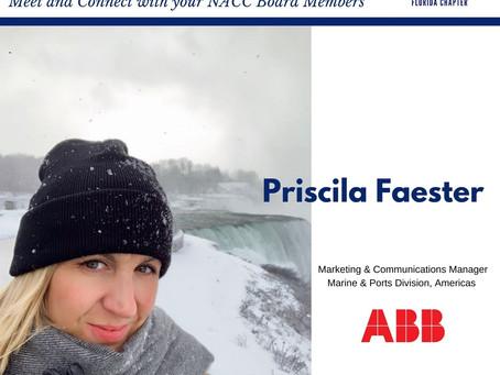 BOARD MEMBER SPOTLIGHT: PRISCILA FAESTER, ABB