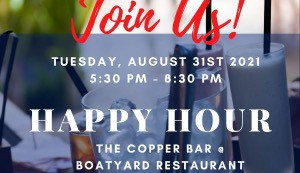 COMING UP: NACC Happy Hour August 31st