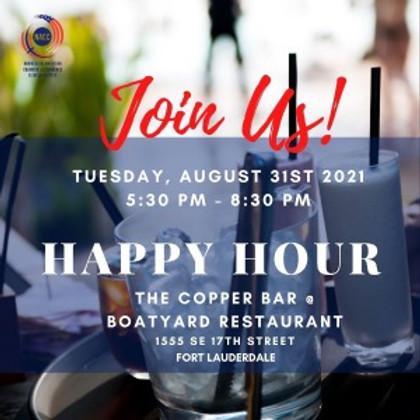 NACC Happy Hour  @ BOATYARD  Restaurant