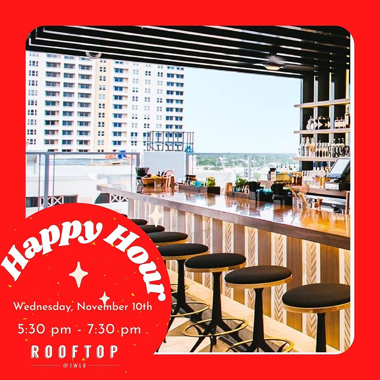 NACC Happy Hour at Rooftop 1WLO
