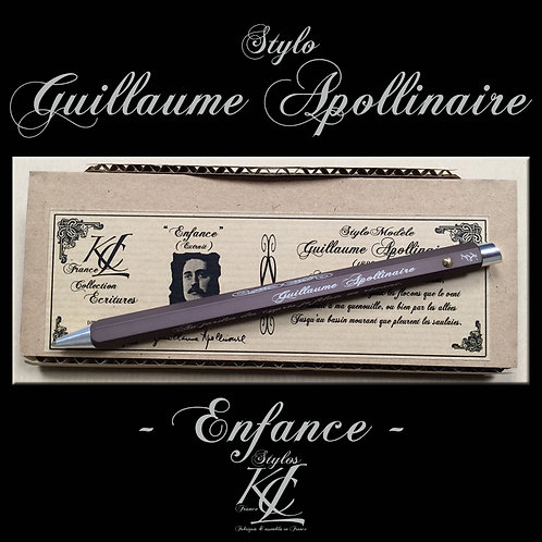 Stylo Guillaume Apollinaire