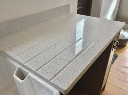 Phoenix Worktops White Starlight 4