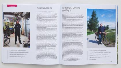 Eigenaren van bijzondere fietsbedrijven