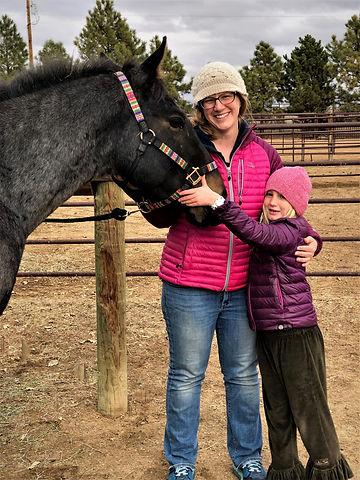 Roslynn & Addie w Horse.jpg