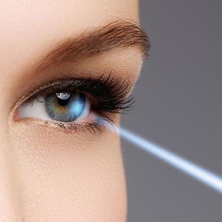 Laser Vision Correction. Woman's Eye. Human Eye. Woman Eye With.jpg