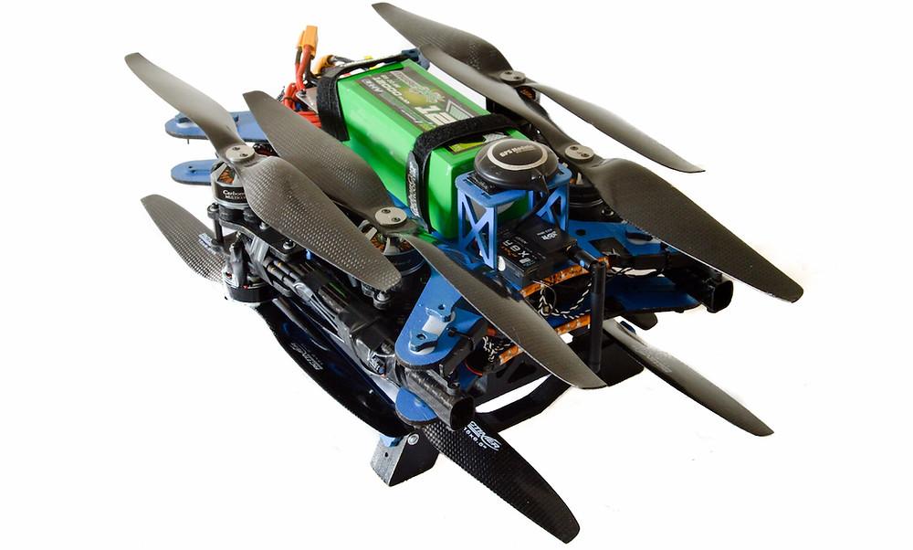 Folded UAV