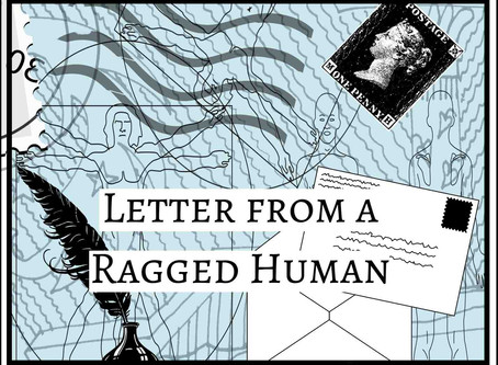 """The Mothman's Diaries"" (Letter from a Ragged Human No3) by M. N. Jones"