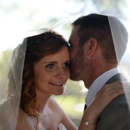 Le mariage emouvant de Vanessa & Jean pierre puis le bapteme de Léo