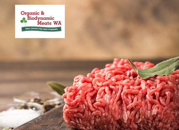 10kg Budget Bulk Organic Beef Mince (Bagged)