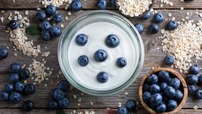 Blueberry Power Yogurt