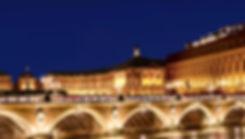 Bordeaux Place De la Bourse la nuit