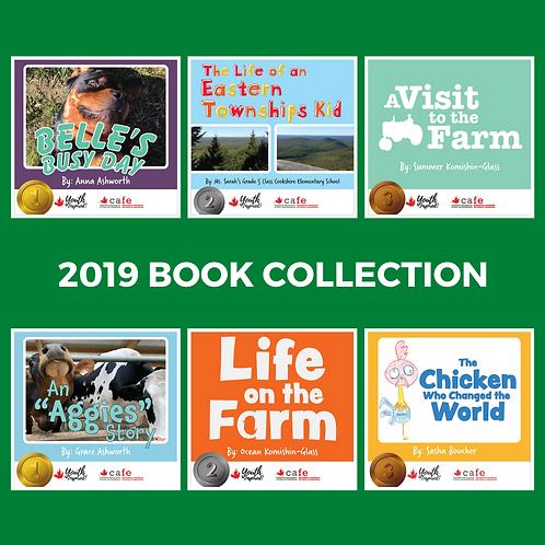 2019 Book Collection / Collection de livres 2019