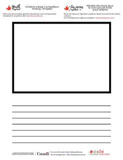 CAFE-YICBC-EN-FR-Writing Template-Modele