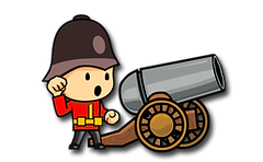 Cannons And Soldiers - Mountain Offense.