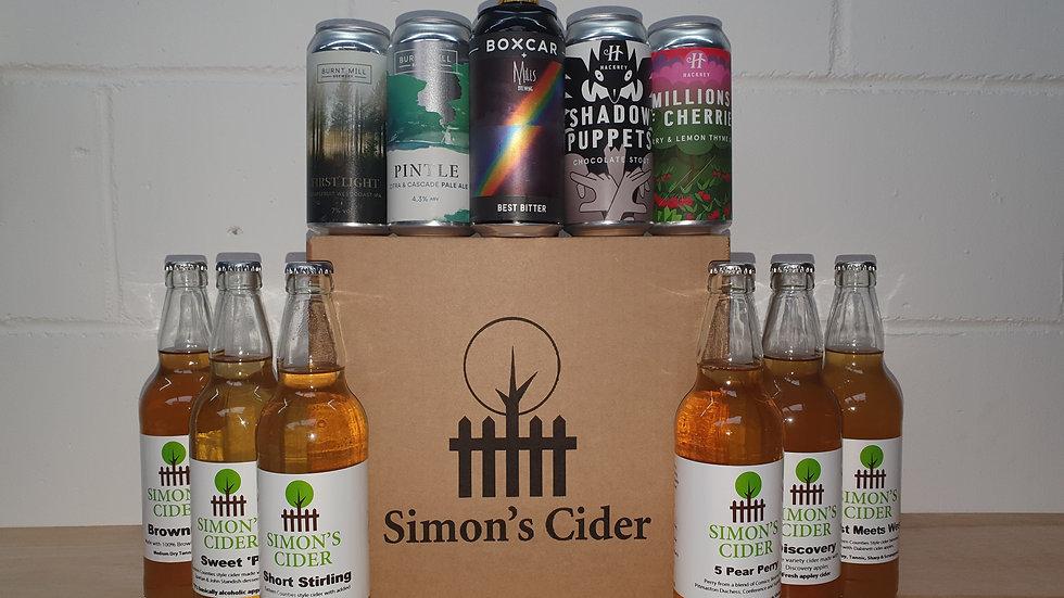 Cider & Beer Selection Box