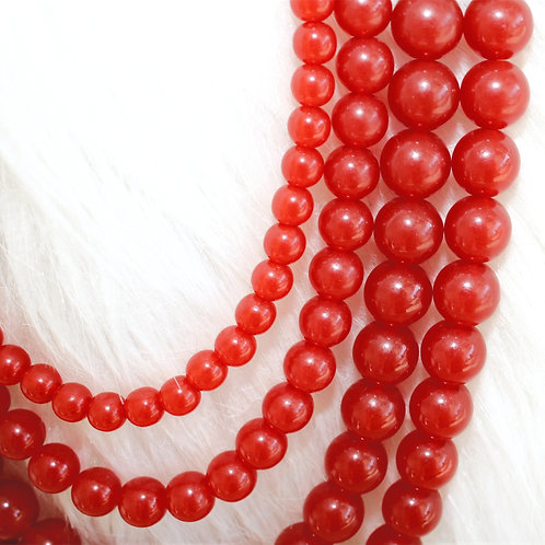 Carnelian Red Necklace