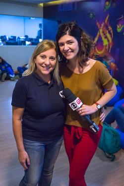 Entrevista a Rede Globo