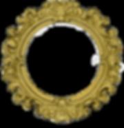 png-transparent-frame-golden-round-frame