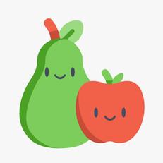 Pera & Manzana