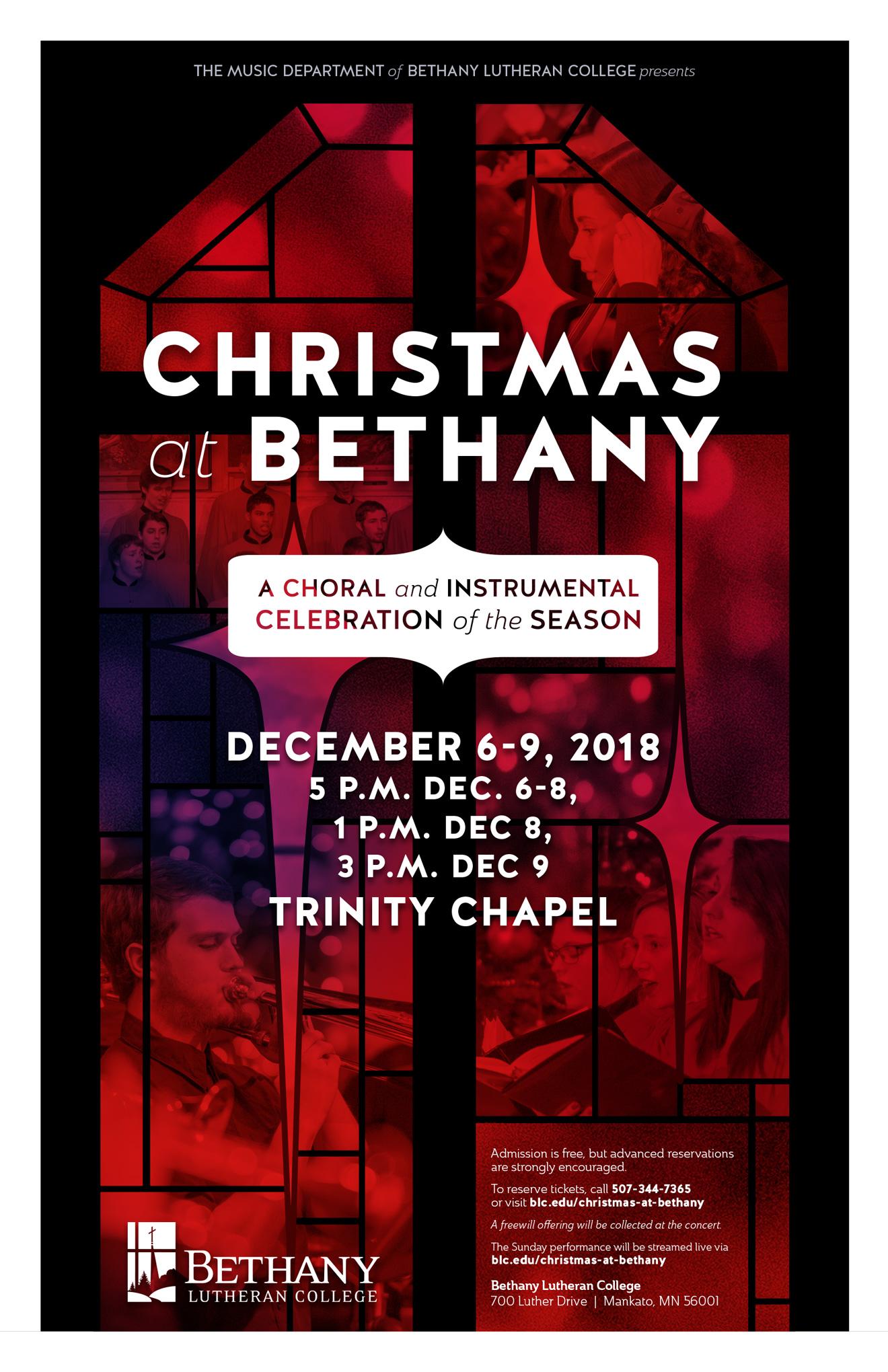 christmas at bethany 2018