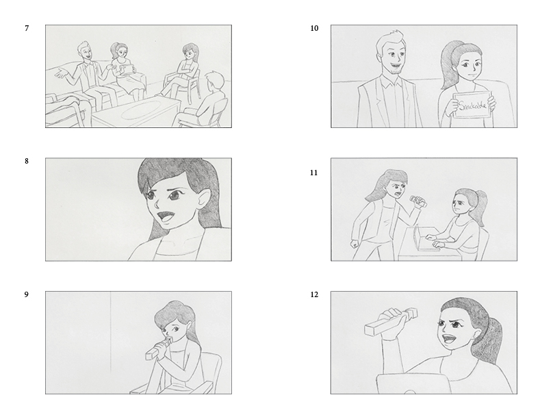commercial 1 storyboards 2