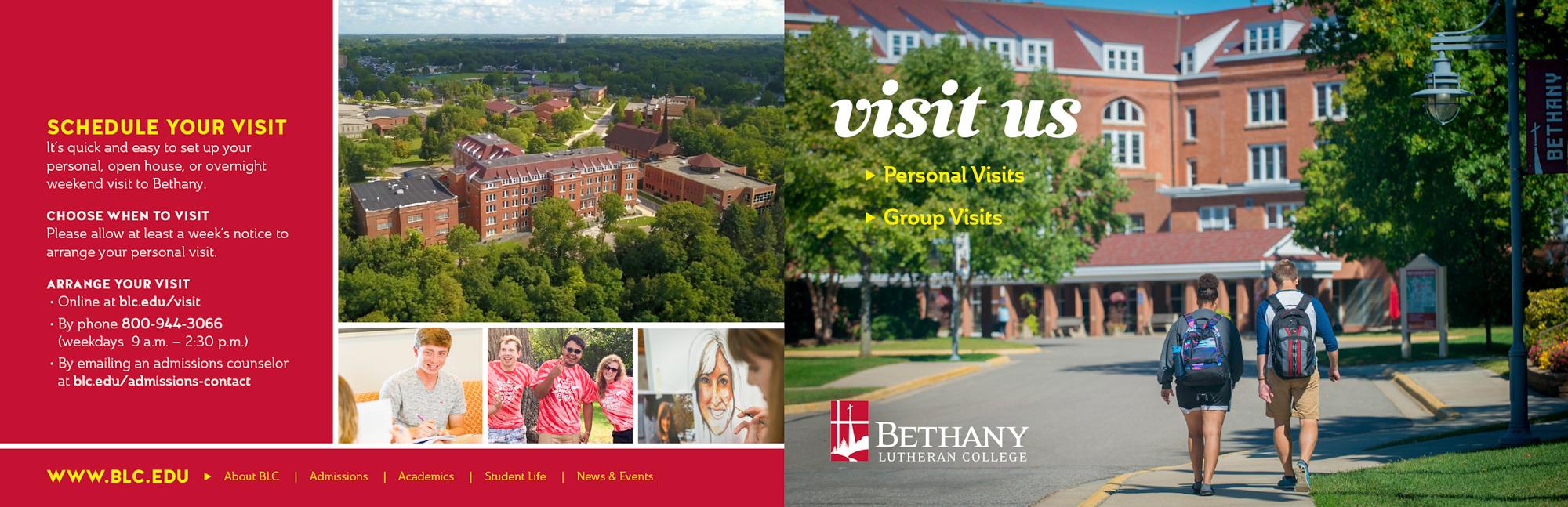 campus visit brochure