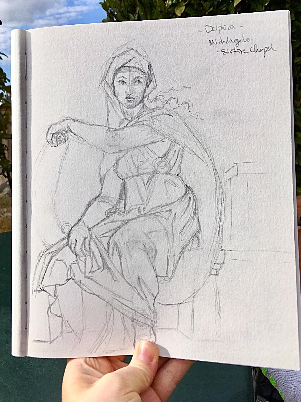 Michelangelo - Delphia