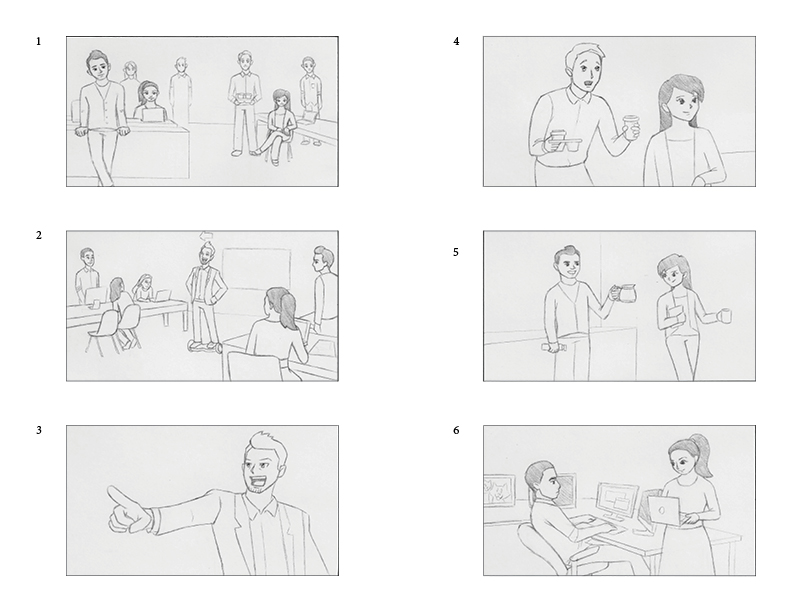 commercial 1 storyboards 1