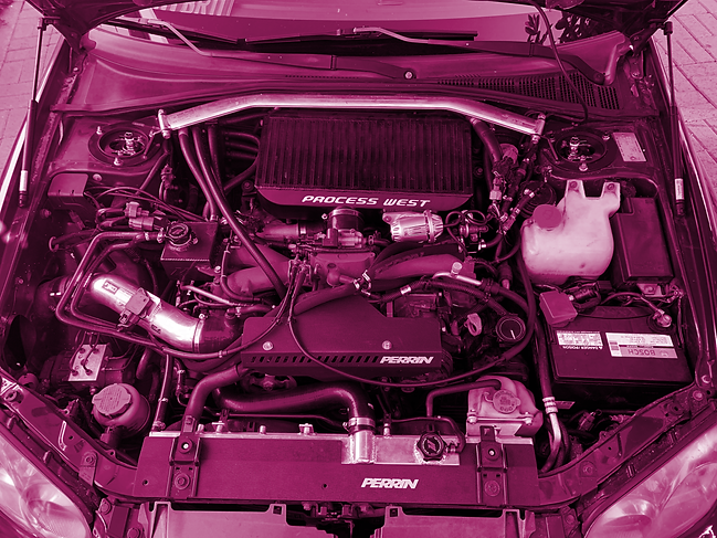internal engine blue subaru-purple edit
