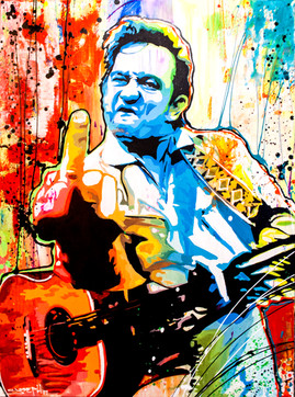 Johnny Cash the Finger