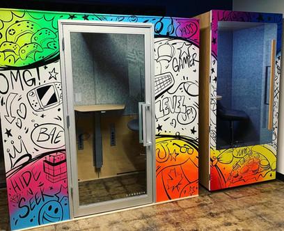 Night Media Graffiti Booths