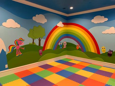 Rainbow Play Room